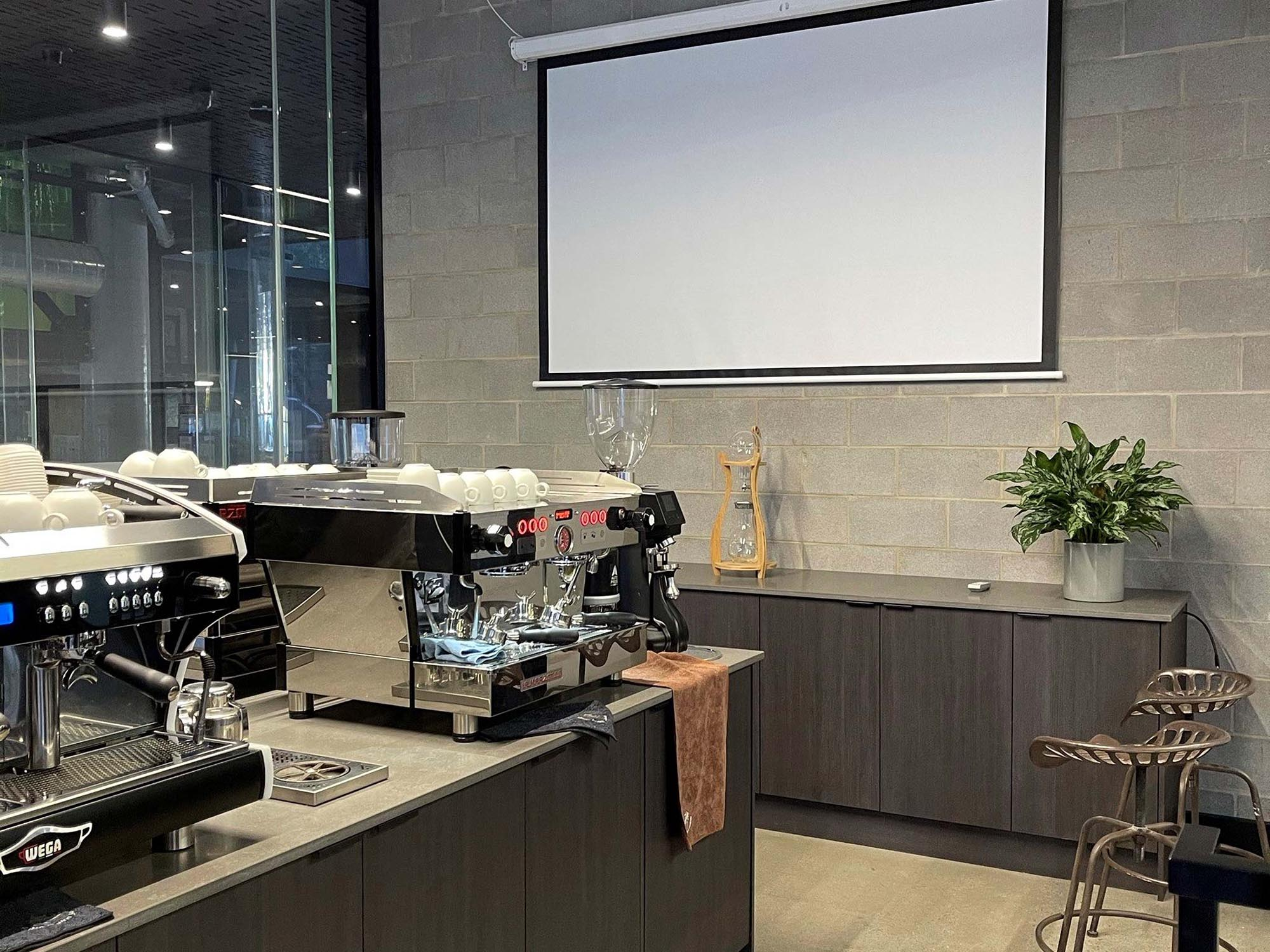 JD Coffee Show Room After